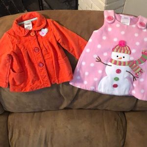 Other - Lit of baby girls jacket and dress